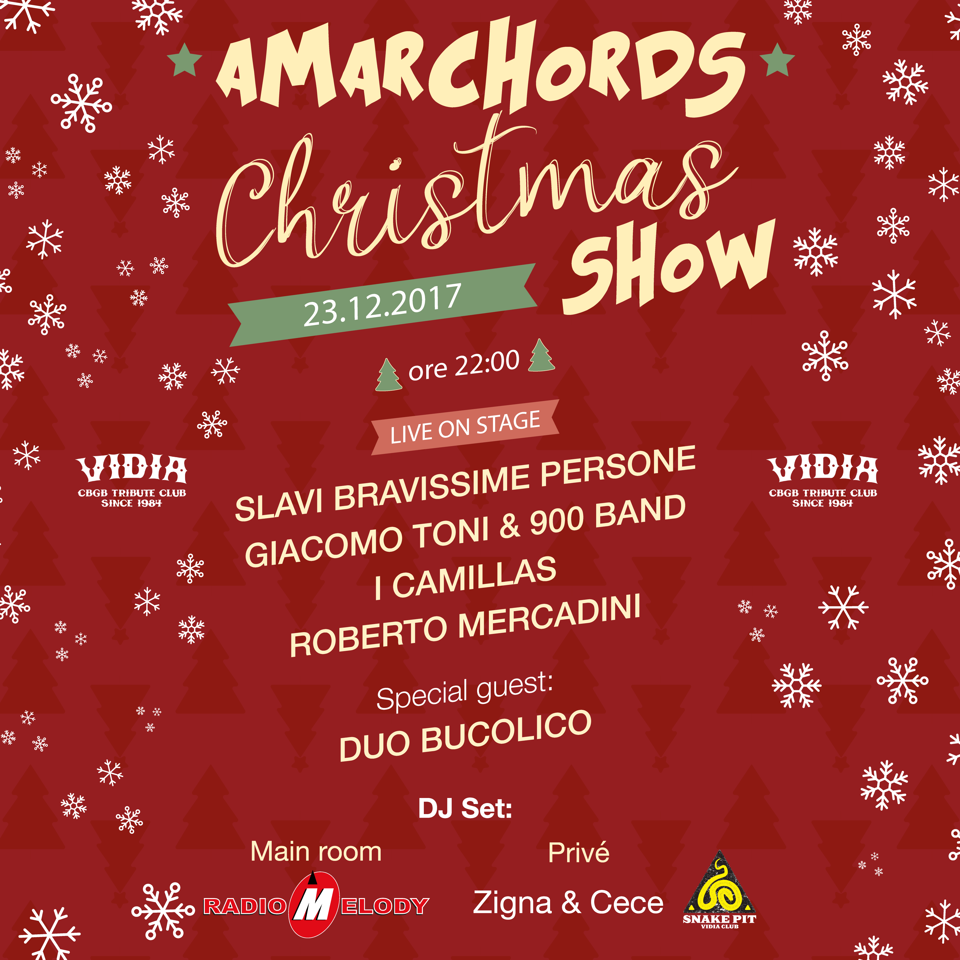 AMARCHORDS CHRISTMAS SHOW