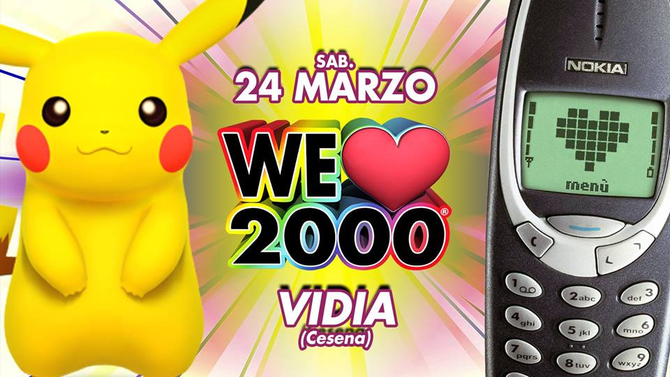 WE LOVE 2000 PARTY