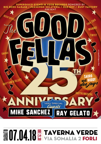 THE GOOD FELLAS 25°