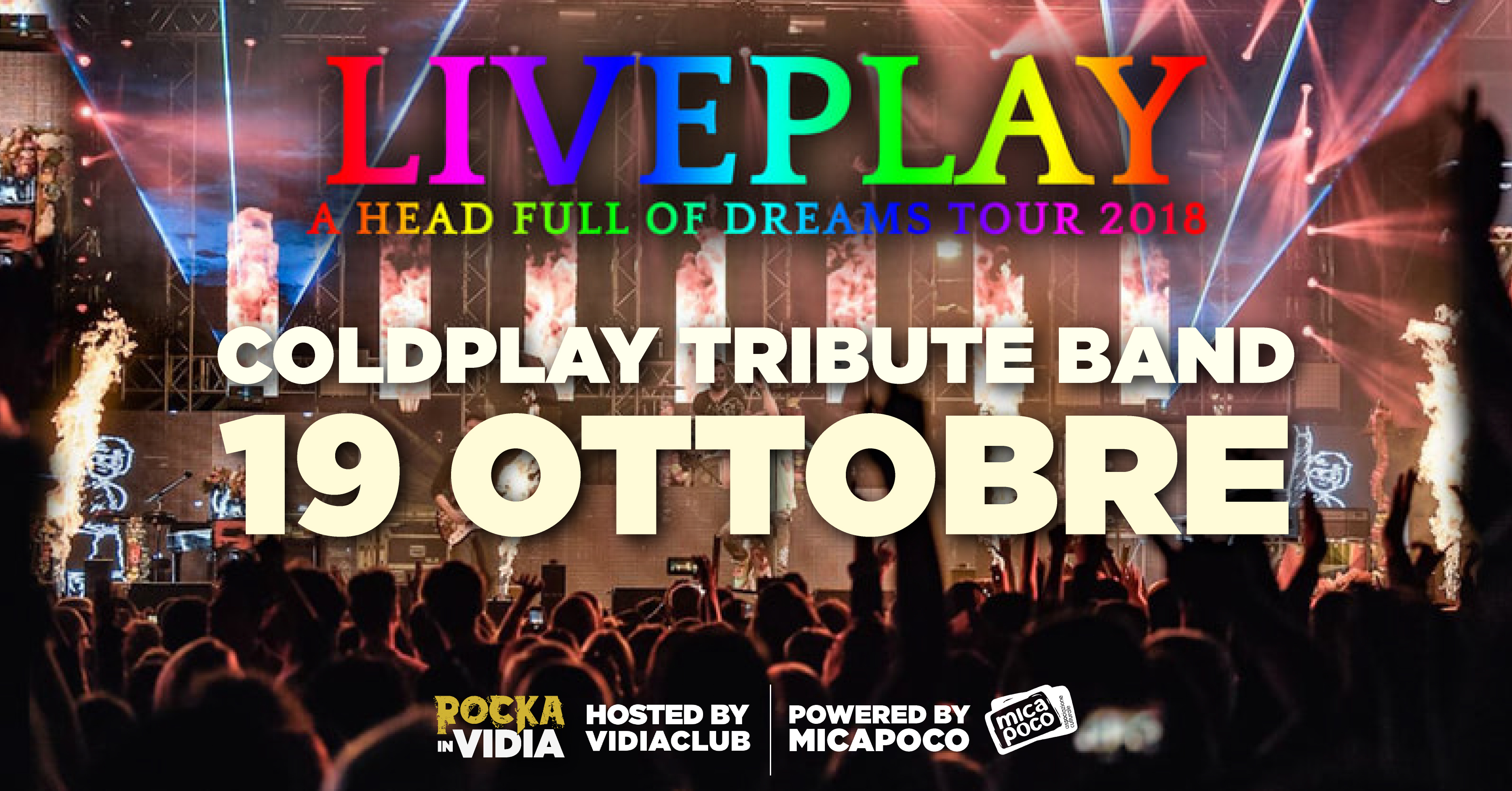 LivePlay tributo ai Coldplay 2018