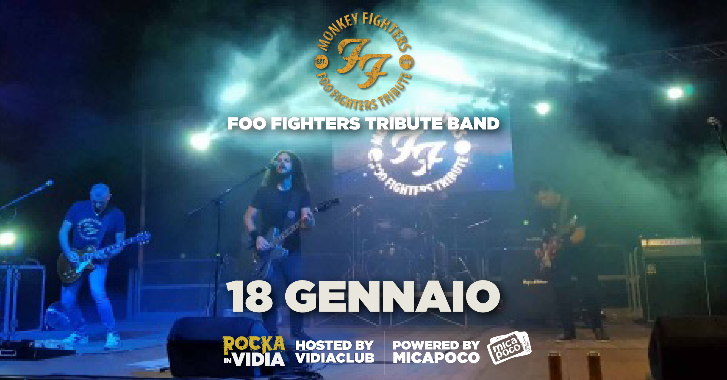 Monkey Fighters tributo ai Foo Fighters