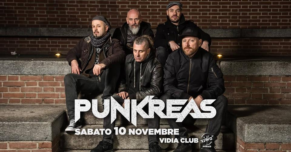 Punkreas 2018 tour