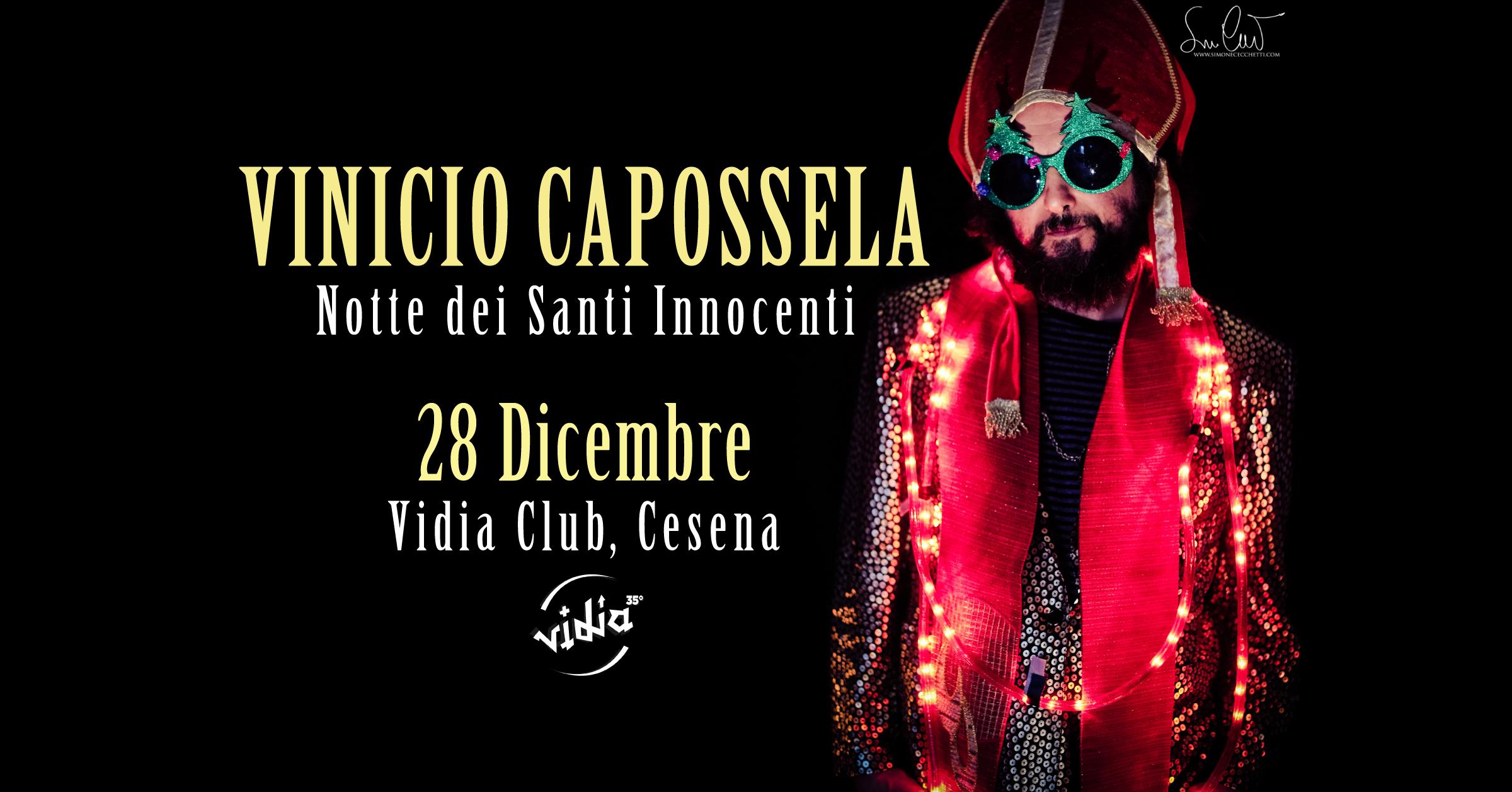 VINICIO CAPOSSELA 2018