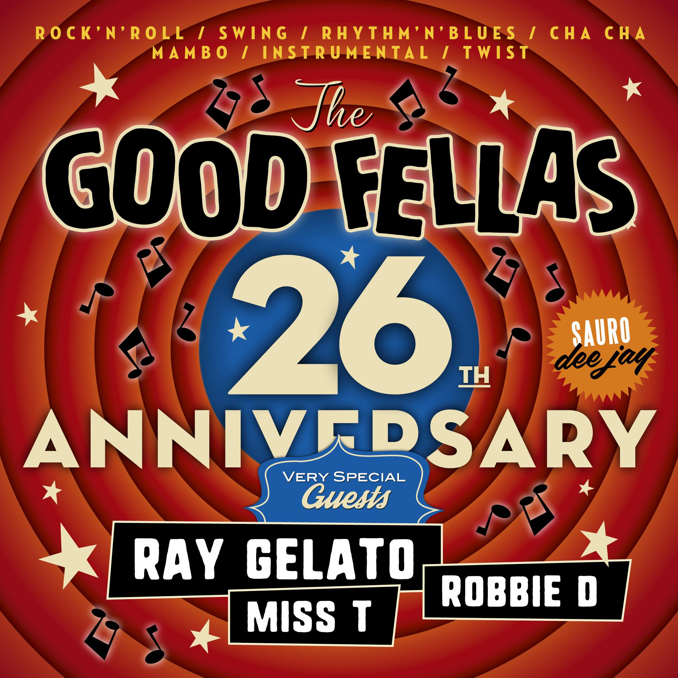 THE GOOD FELLAS 26 + Guest